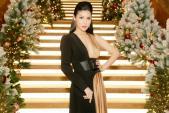 Hoa hậu quý bà quốc tế Loan Vương đẹp không tỳ vết, xuất thần trong mọi khoảnh khắc