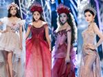 Lần đầu tiên 3 chị đại The Face Minh Tú - Lan Khuê - Hoàng Thùy cùng đảm nhiệm vai trò vedette trên một sân khấu