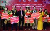 TP HCM đón đoàn khách quốc tế và nội địa đầu tiên của năm 2019