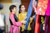 NTK Vân Trần ra mắt thương hiệu áo dài Phúc Tâm An
