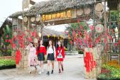 Khám phá không gian tết xưa tại lễ hội hoa Sun World Halong Complex