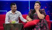 Diễn viên hài Tuyền Mập cãi nhau với chồng ngay tại buổi quay hình