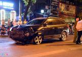 Tạm giữ tài xế ôtô Hyundai đâm xe liên hoàn, tông chết nữ lao công