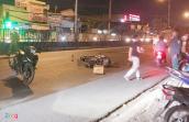 Va chạm với ôtô tải trong đêm, nam thanh niên tử vong ở Sài Gòn