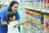 Vinamilk đứng đầu ở cả sữa nước và sữa bột trẻ em tại Việt Nam