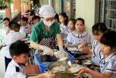 Thực đơn cân bằng dinh dưỡng cho học sinh bán trú tại Thái Bình