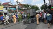 Va chạm ôtô tải, người phụ nữ tử vong ở Sài Gòn