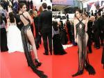 Không phải đến Cannes mới hở bạo đâu, Ngọc Trinh có cả một bộ sưu tập những chiếc váy còn nóng hơn thời tiết Hà Nội đây này!