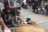 Xe ba gác đè tử vong người đi đường