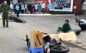 2 thiếu niên chạy xe máy tông vào vỉa hè, 1 người chết