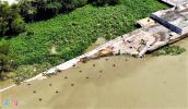 Ép cọc khiến cầu tàu Ba Son bị sập xuống sông Sài Gòn?