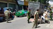 Một phụ nữ thiệt mạng sau khi va chạm với xe tải ở Sài Gòn