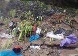 Sạt lở đá ở đèo Mã Pì Lèng khiến 2 người trọng thương