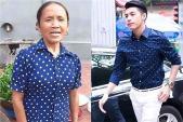 Dân mạng tình cờ phát hiện: Bà Tân Vlog mặc áo xanh chấm bi hao hao Noo Phước Thịnh