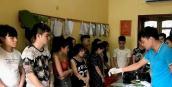 14 thanh niên bị bắt quả tang sử dụng ma túy tập thể trong khách sạn