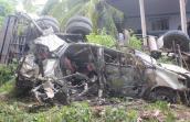 Thêm 2 người tử vong trong vụ ôtô rơi cầu Hàm Luông