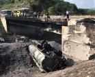 Hoàn tất sửa chữa cầu Ngòi Thủ sau vụ xe bồn bốc cháy