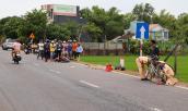 Tránh xe đạp qua đường, thanh niên chạy Exciter đâm cột mốc tử vong