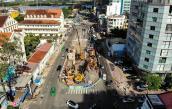 Cao ốc ở Sài Gòn rung lắc nghi do thi công cầu Thủ Thiêm 2