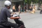 CSGT bị hất văng khi dừng xe vi phạm