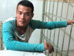 Trinh sát đạp ngã tên cướp chuyên giật túi xách ở Sài Gòn
