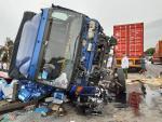 CSGT bác thông tin ôtô tải đè chết 5 người do né xe cảnh sát
