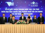Quỹ phát triển đại học Quốc gia TP HCM tiếp nhận 10 tỷ đồng tài trợ từ tập đoàn Novaland