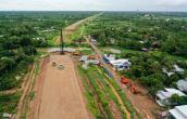 Cao tốc Trung Lương - Mỹ Thuận vẫn là đường đất sau 10 năm khởi công