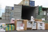 Bắt giữ lô hàng tiền tỷ nhập khẩu từ Trung Quốc gắn mác