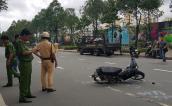 Thiếu tá CSGT Sài Gòn bị xe vi phạm tông nhập viện