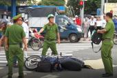 Bị ôtô tải cán qua người, cụ ông 74 tuổi tử vong