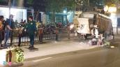 Máy bơm bê tông đứt khỏi xe tải khiến 2 thanh niên tử vong ở Sài Gòn