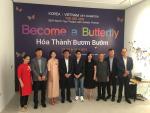 Những cánh bướm kết nối trái tim đồng điệu Việt - Hàn
