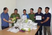 Cảnh sát vây bắt nhóm vận chuyển 50 kg ma túy