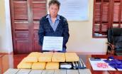 Gã đàn ông vượt biên giới cùng 7 bánh heroin, 56.000 viên ma túy