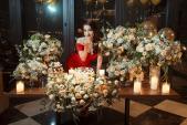 Trang Nhung tình tứ cùng chồng dự sinh nhật Thái Nhiên Phương