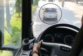 Truy tìm ôtô Kia Morning cản đường xe cứu hỏa đi chữa cháy