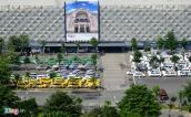 Làm thêm bãi đậu xe trước nhà ga quốc tế sân bay Tân Sơn Nhất