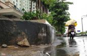 Nâng đường Nguyễn Hữu Cảnh thêm 1,2 m, dân lo nhà biến thành hầm