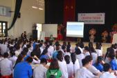 Hơn 300 học sinh tỉnh Hòa Bình và Bình Phước được đào tạo kiến thức tài chính