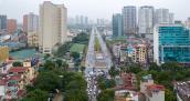 Tuyến đường 8 làn kết nối 3 quận ở Hà Nội được thông xe
