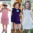 Cách may váy hè cho bé cực yêu từ đồ cũ của mẹ