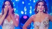 Người đẹp Colombia khó chịu ra mặt vì hụt giải thưởng