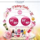 Bão sale tháng 4 càn quét tất cả cửa hàng L'Occitane