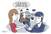 Cuộc chiến giữa xe ôm truyền thống và xe ôm công nghệ
