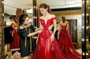 Á hậu Huyền My chọn đầm dạ hội cho cuộc thi Miss Grand International