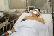 CSGT Sài Gòn bị thanh niên say xỉn tông trọng thương