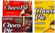 Bánh Choco Pie Lotte bị thu hồi không bán tại Việt Nam