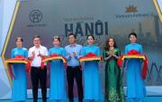 """Nhiều hoạt động tại chương trình """"Vietnam Airlines - Hà Nội - Vòng tay bạn bè"""""""