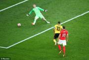 """Kết quả bóng đá World Cup 2018 Anh vs Bỉ: Hazard """"lên đồng"""", ghi bàn định đoạt"""